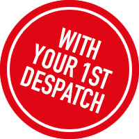 With your 1st despatch