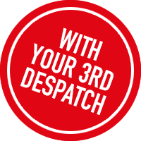 With your 3rd despatch