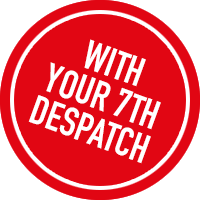 With your 7th despatch